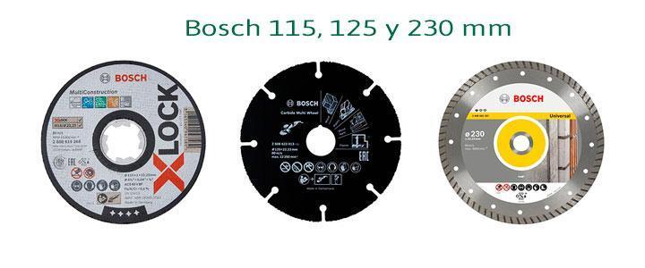 Comprar amoladora Bosch 115, 125 o 230 mm