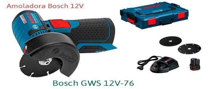 Amoladora Bosch GWS 12V-76