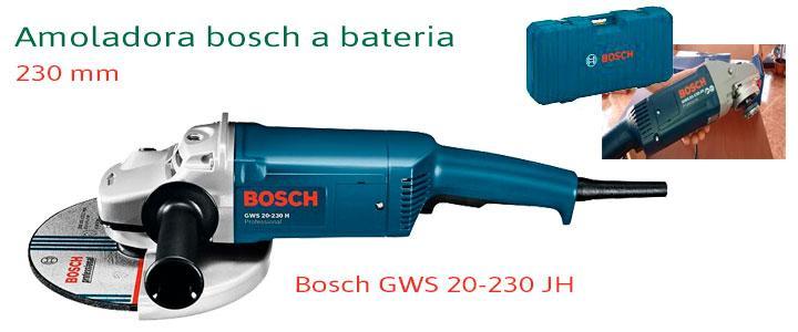 Amoladora Bosch GWS 20-230 JH