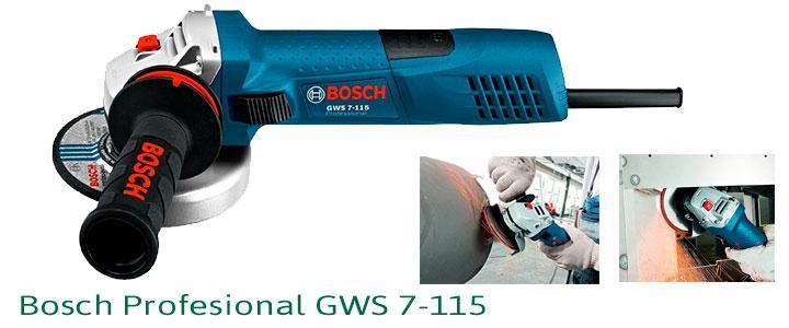 Amoladora Bosch Profesional GWS 7-115
