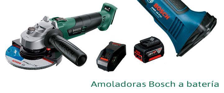Amoladoras Bosch a batería
