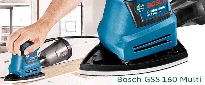 Bosch GSS 160 Multifunción