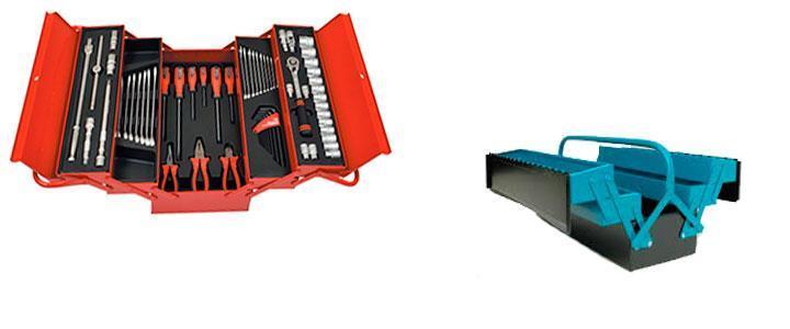 Cajas de herramientas de aluminio o acero, calidad profesional