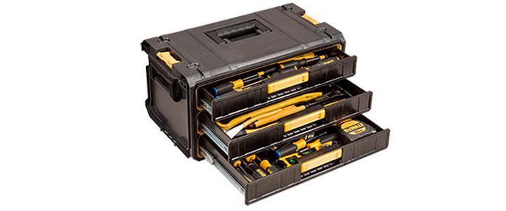 Cajas de herramientas completas para profesionales