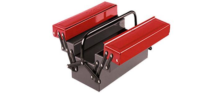 Cajas de herramientas metálicas de aluminio, hierro o acero