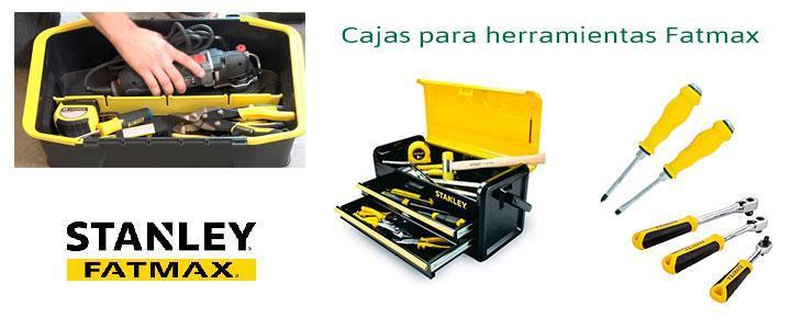 Cajas de herramientas Stanley Fatmax