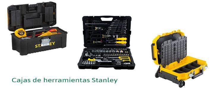 Cajas de herramientas Stanley