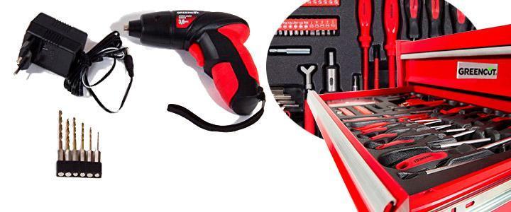 Opiniones sobre el carro de herramientas Greencut Tools 881