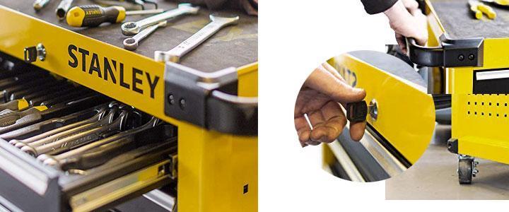 Carro de herramientas de taller calidad profesional marca Stanley