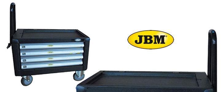 Carro JBM 51426 para herramientas de taller y máquinas neumáticas
