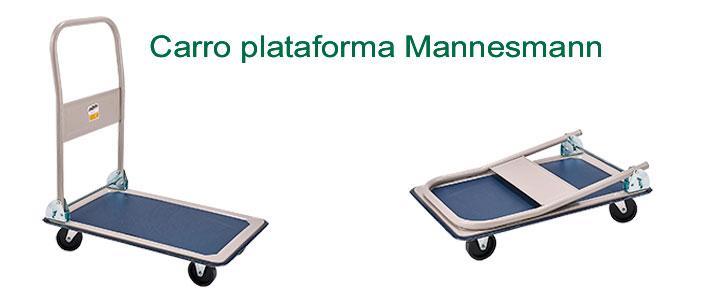 Carro plataforma Mannesmann, carretilla de taller
