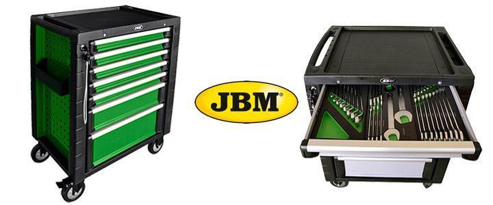 Carro de herramientas JBM completo modelo 53035