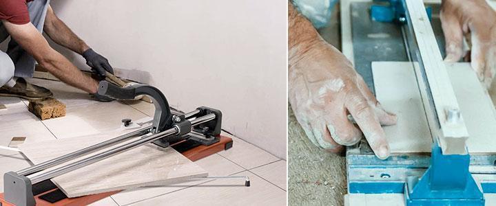 Cortador de azulejos manual 75cm, 90 cm, 120 cm. Todas las medidas de cortadoras cerámicas