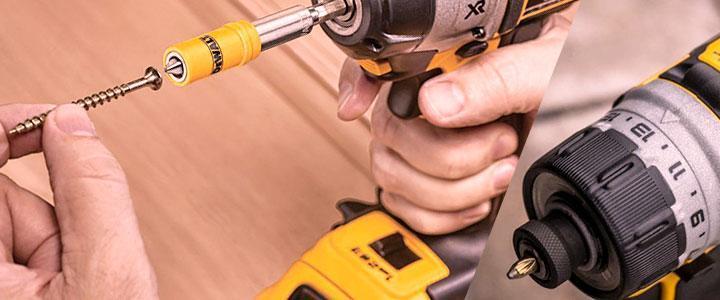 Dewalt atornilladores a batería, kit atornillador de impacto DeWalt