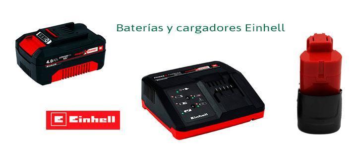 Baterías 18V y 12V Einhell
