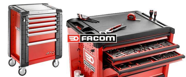 Carro de herramientas Facom jet.6m3