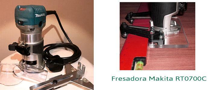 Fresadora Makita rt0700c