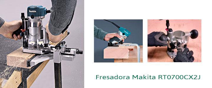 Fresadora Makita rt0700cx2j