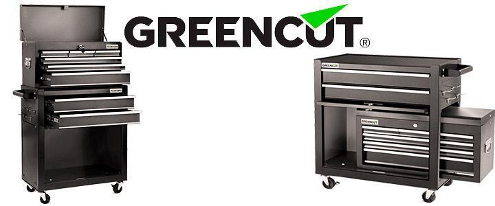 Carro de herramientas vacío Greencut HEC1075N