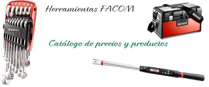 Herramientas Facom, catálogo de precios