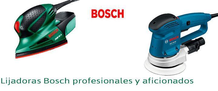 Lijadoras orbitales Bosch