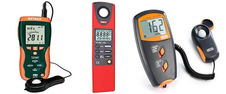 Mejores luxómetros y medidores de intensidad de la luz