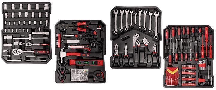 Carro y maleta de herramientas Greencut, precio y características