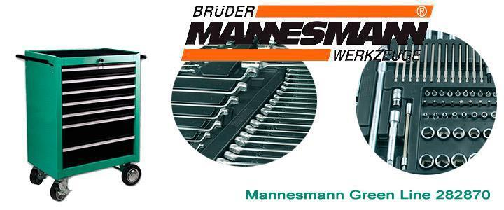 Carro herramientas Mannesmann Green Line 28270