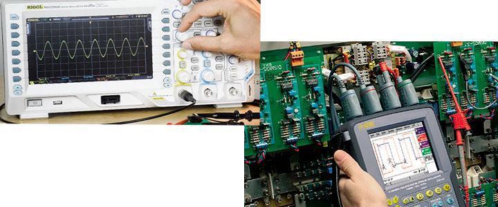 Osciloscopios digitales, precios baratos para comprar online, profesionales y principiantes