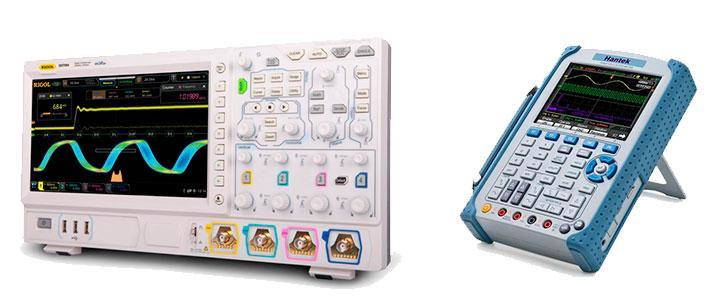 Osciloscopios portátiles Hantek, Fluke, Rigol, Autel, catálogo de marcas