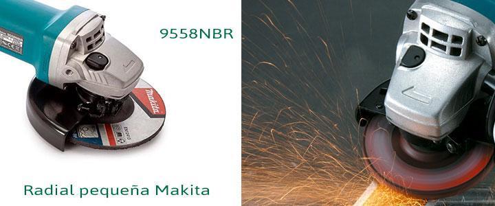 Radial pequeña Makita, mini amoladora