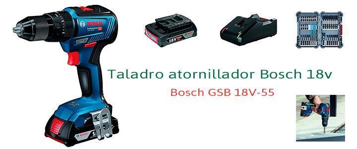 Taladro atornillador Bosch 18v