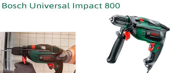 Taladro percutor Bosch 800w