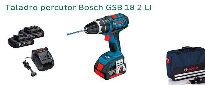 Taladro percutor Bosch GSB 18 2 LI